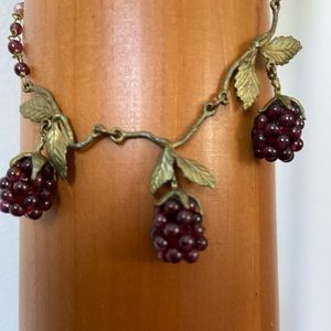 Vintage Grapevine Necklace